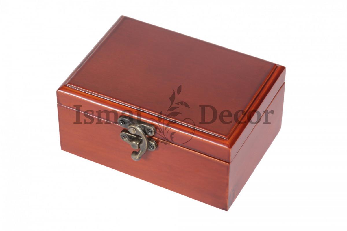 Шкатулка деревянная S-516 коричневый