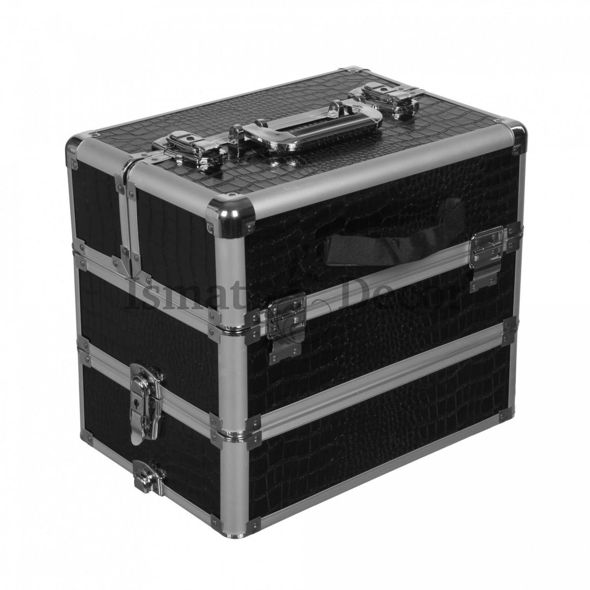 Кейс для визажиста S-2049V черный