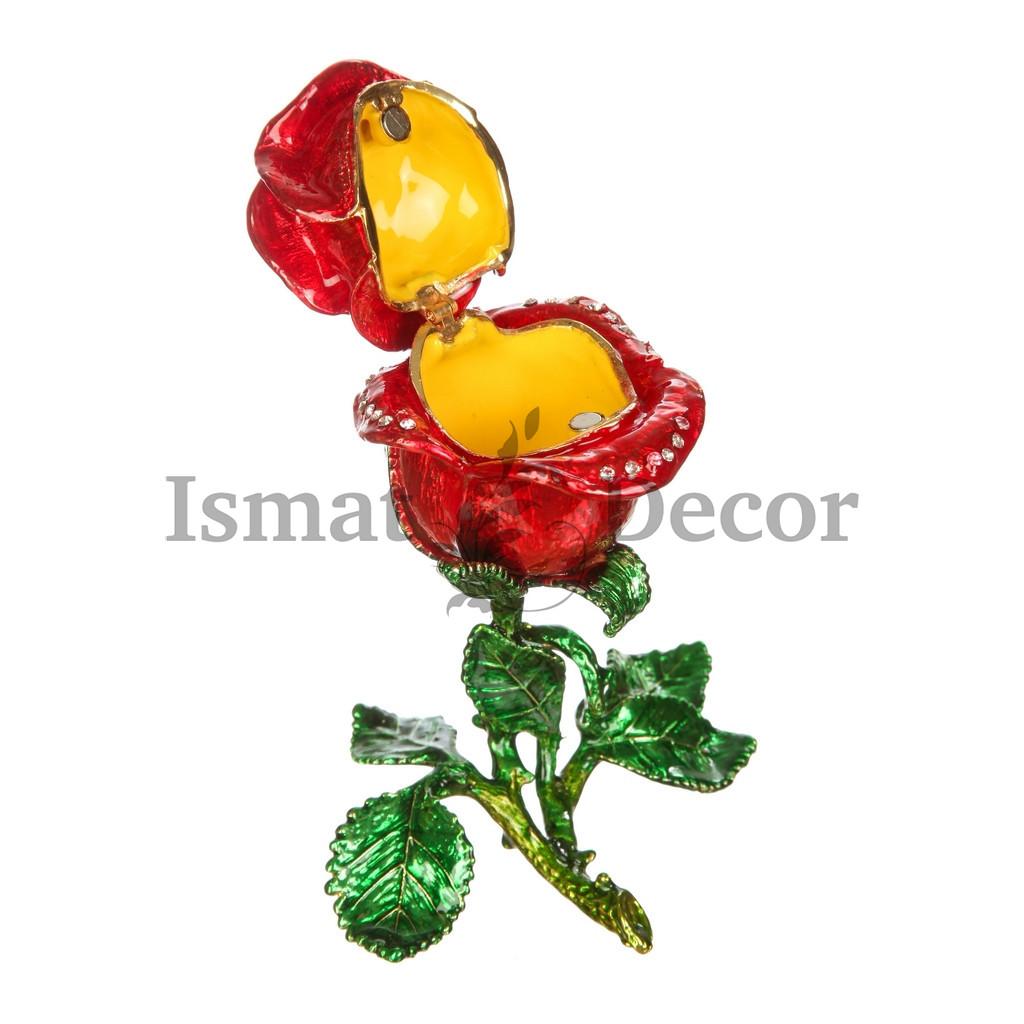 Шкатулка Роза большая