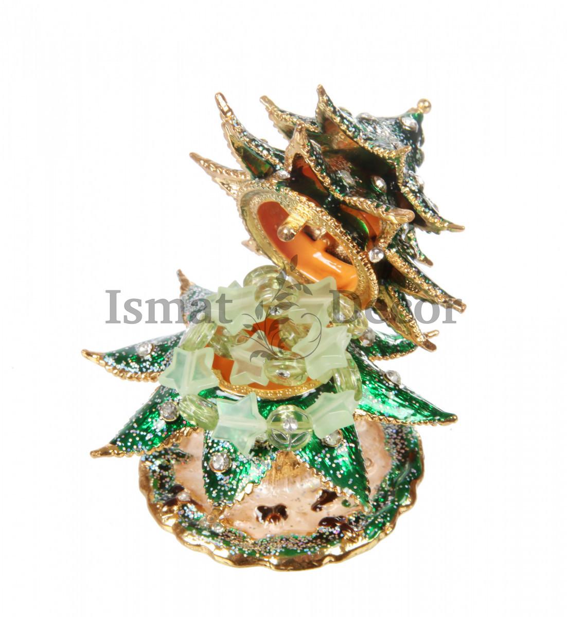 Шкатулка Новогодняя ёлочка