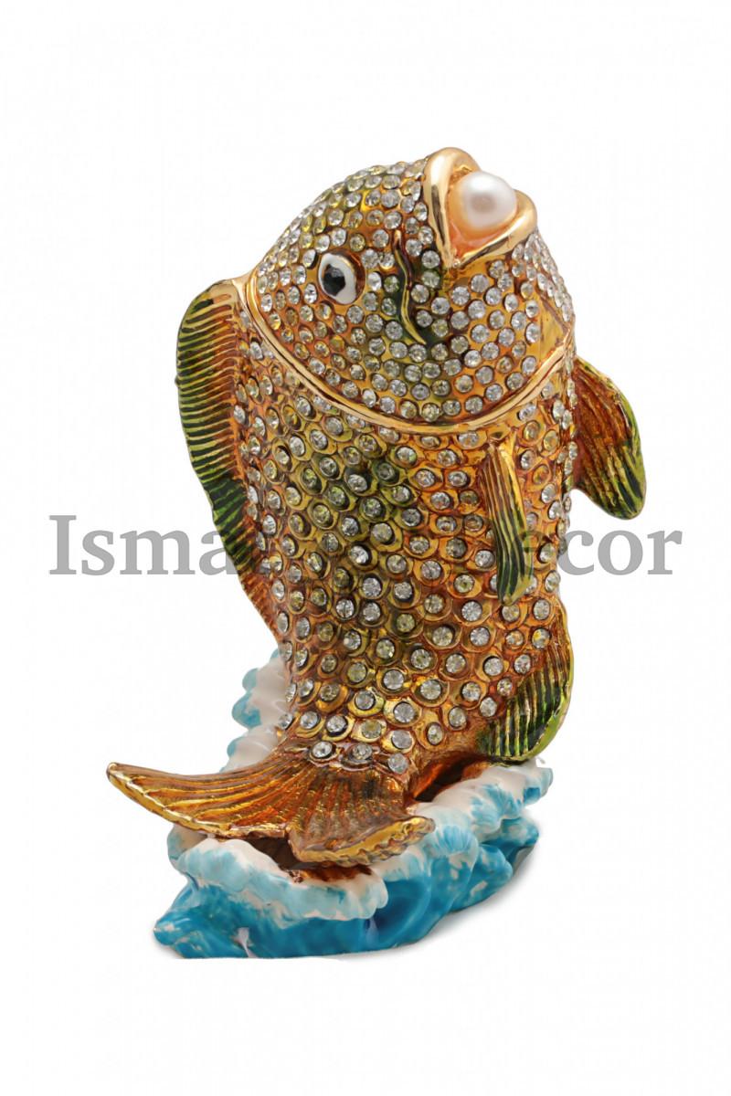 Шкатулка Рыбка малая