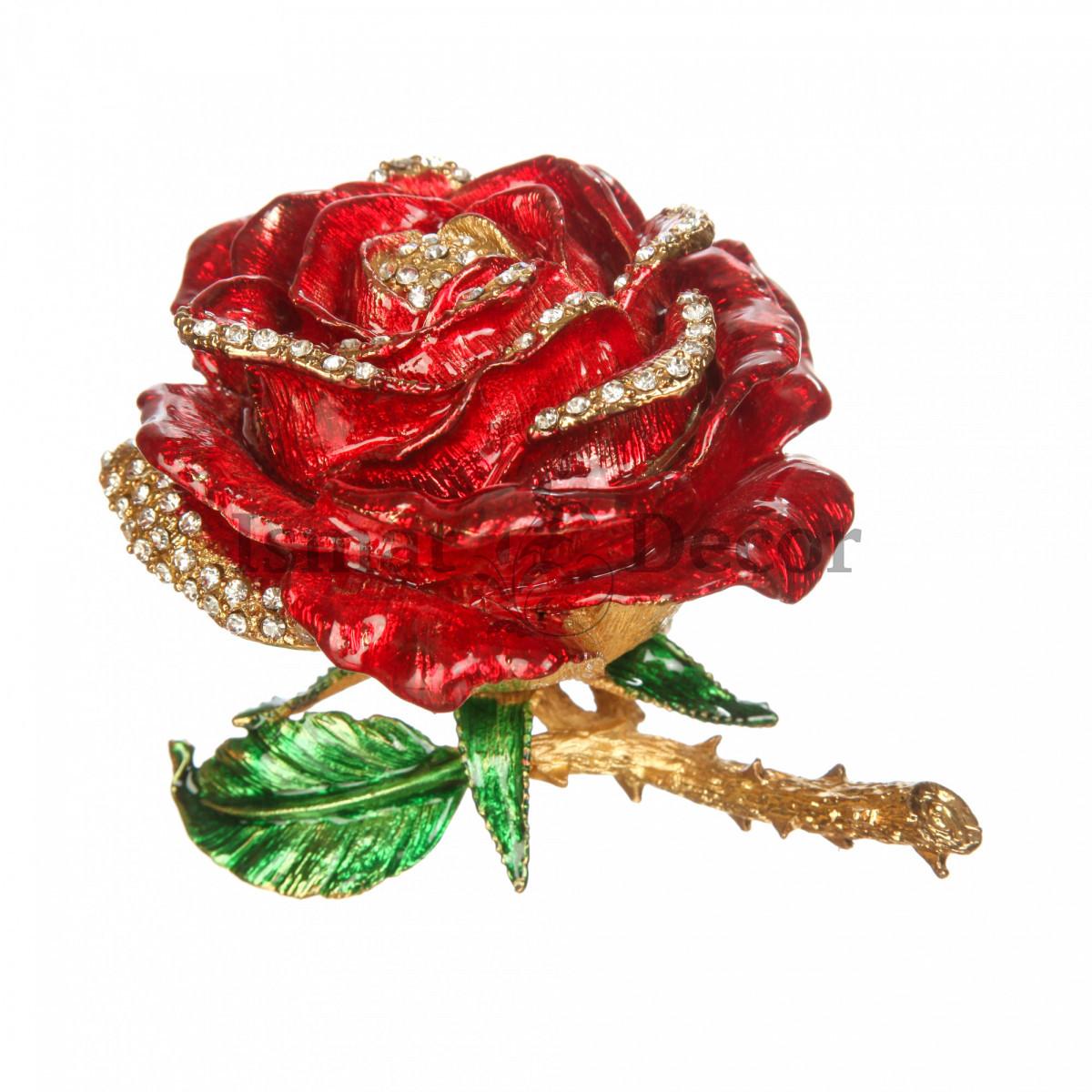 Шкатулка Большая роза