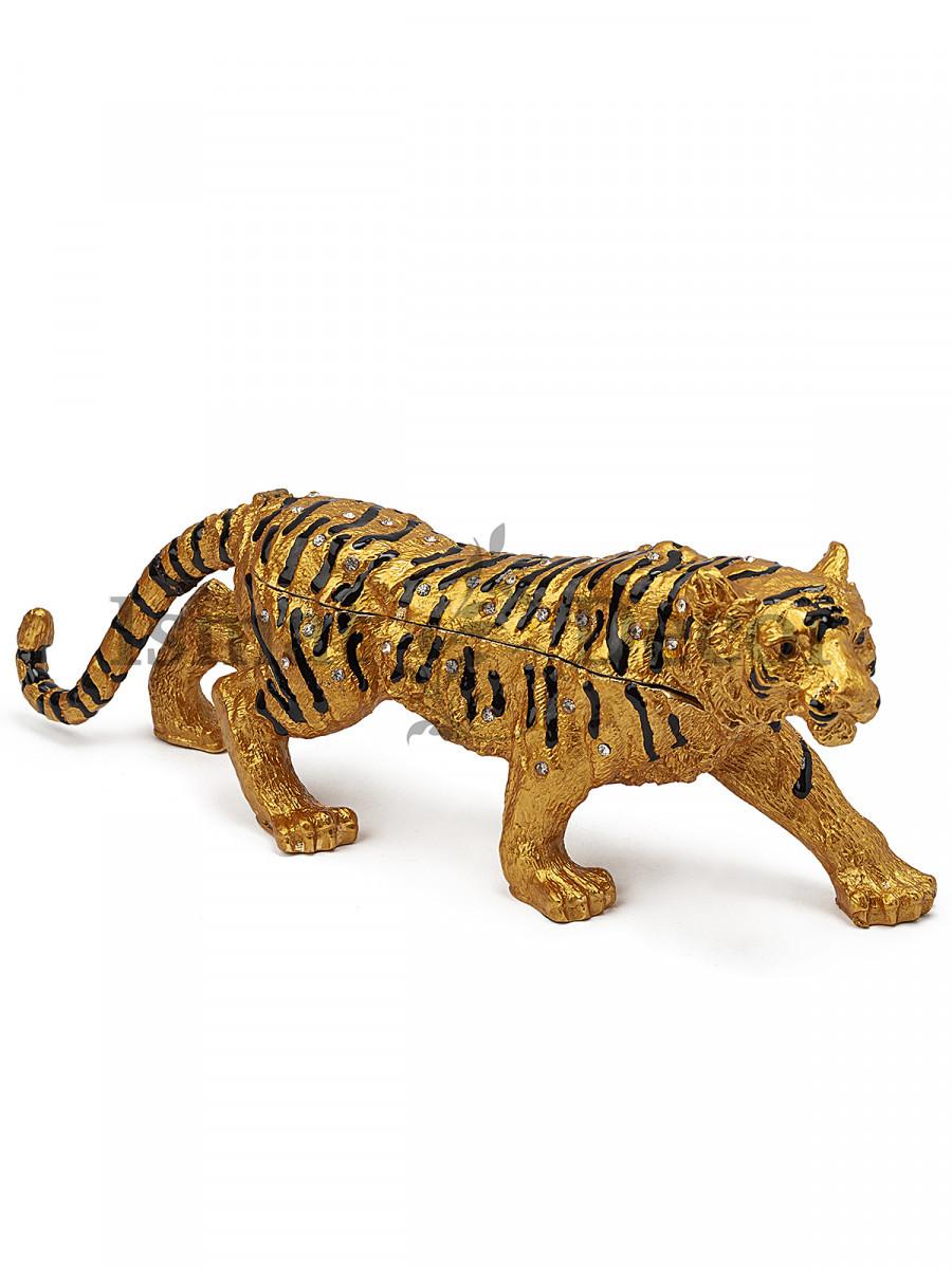 Шкатулка Тигр средний