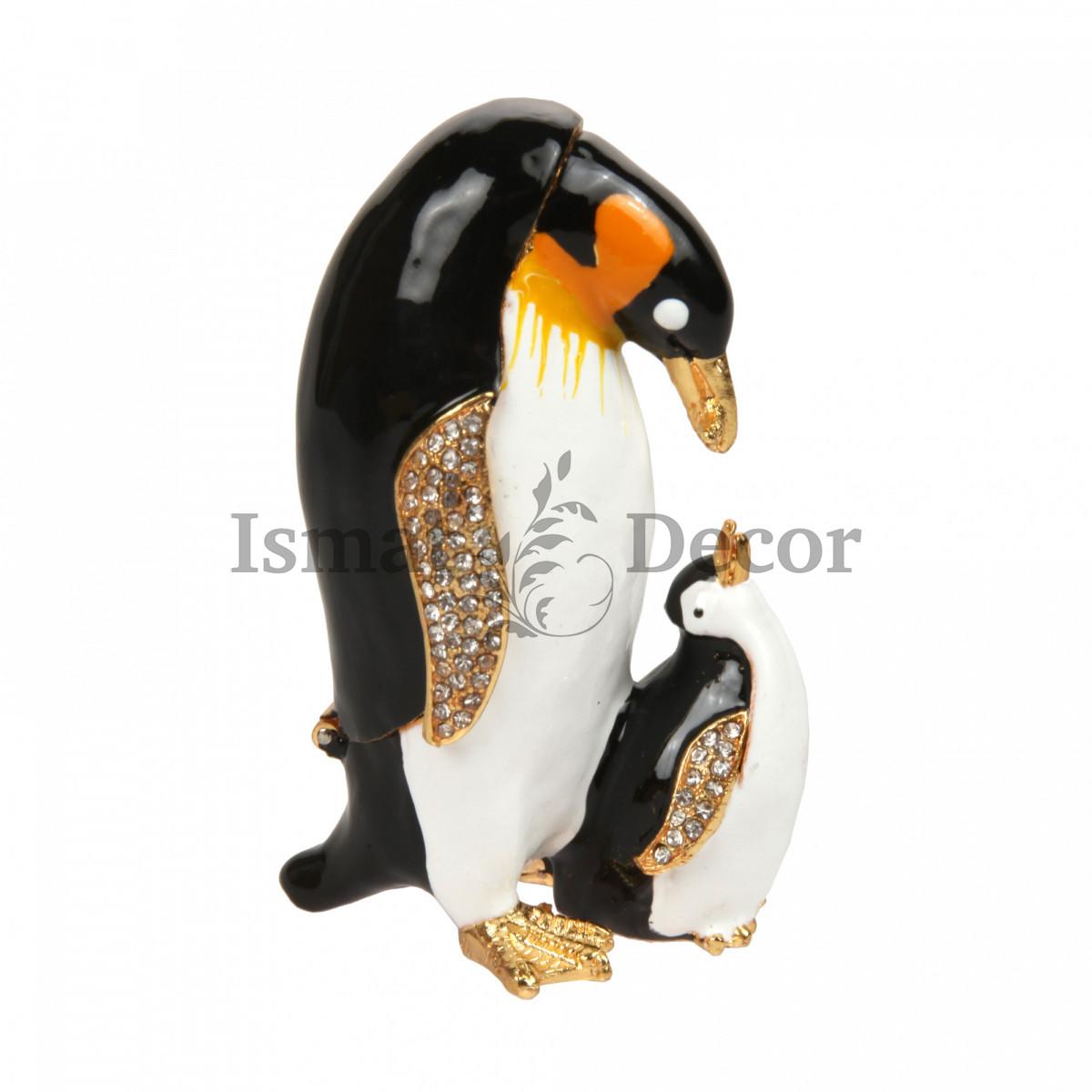 Шкатулка Пингвин