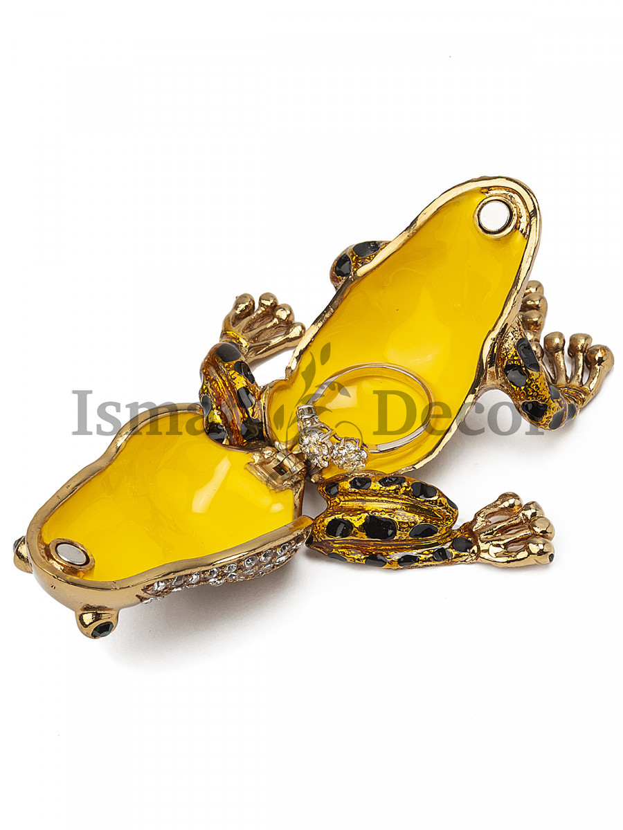 Шкатулка для украшений Лягушка S-3780-1