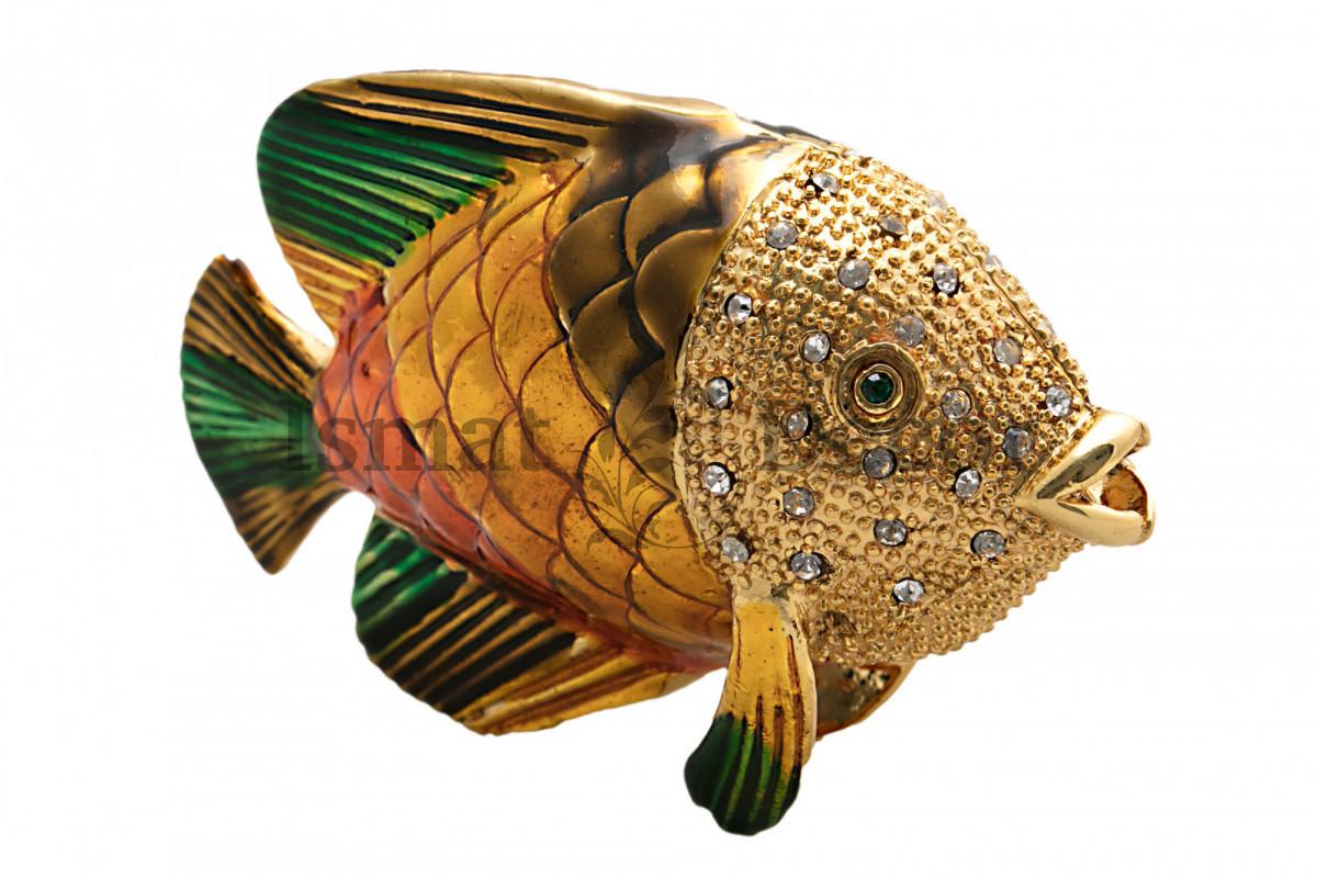 Шкатулка для украшений Рыбка S-711G