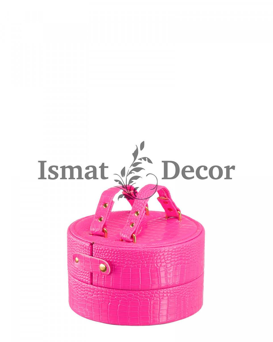 Шкатулка для украшений S-813M розовый