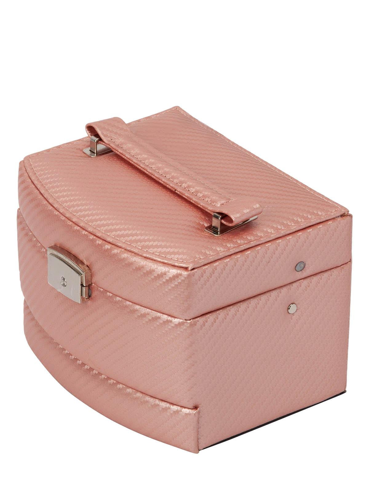 Шкатулка для украшений S-501D-6PW светло-розовый