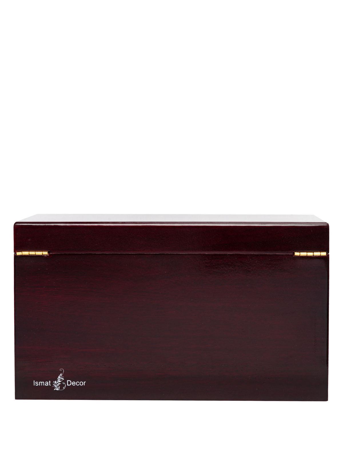 Шкатулка для украшений S-189BR коричневый