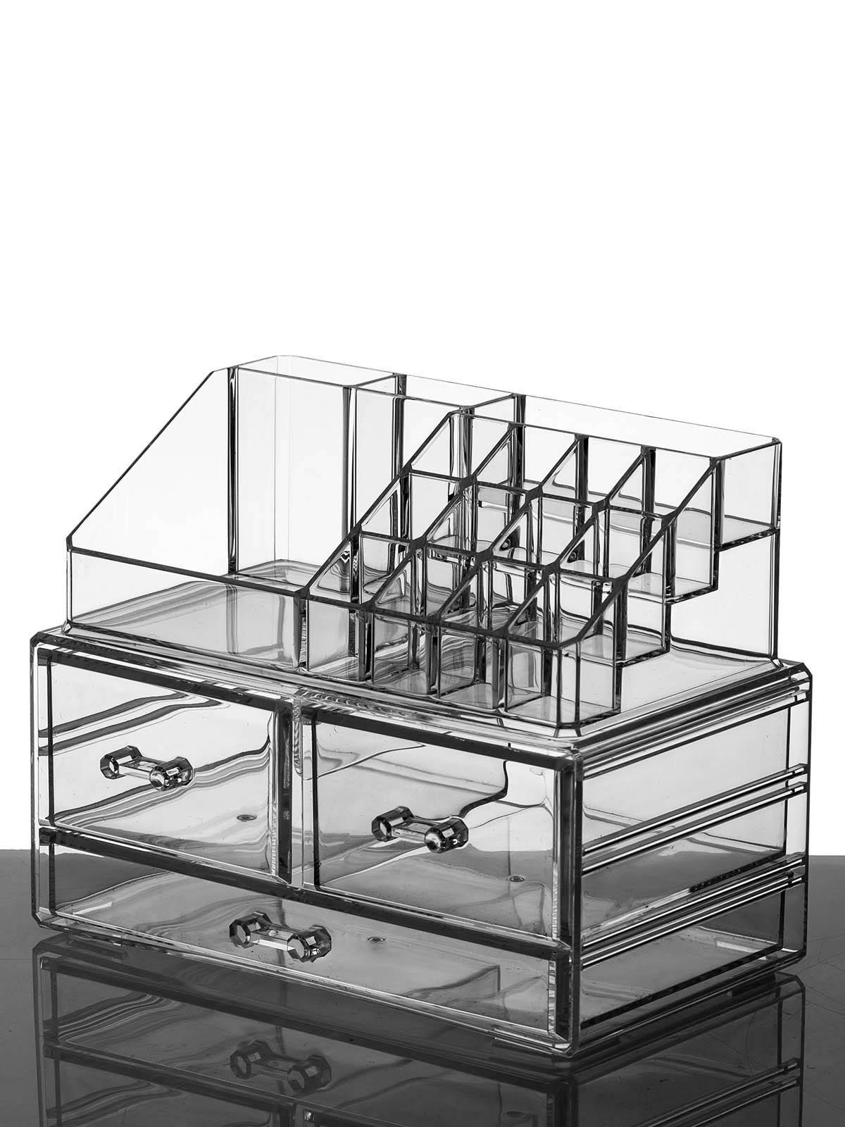 Органайзер для косметики S-330 прозрачный