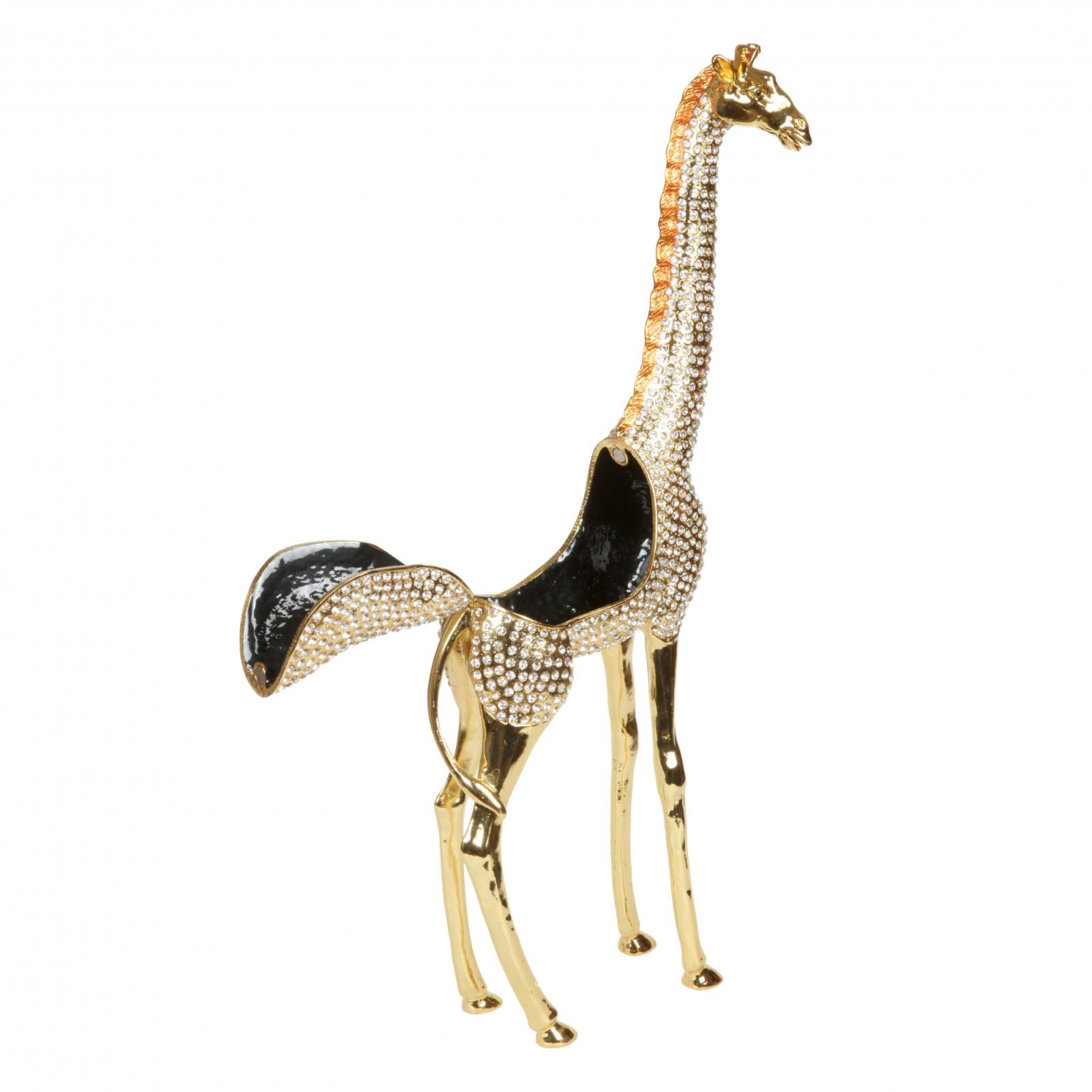 Шкатулка для украшений Жираф S-2487 золотистый