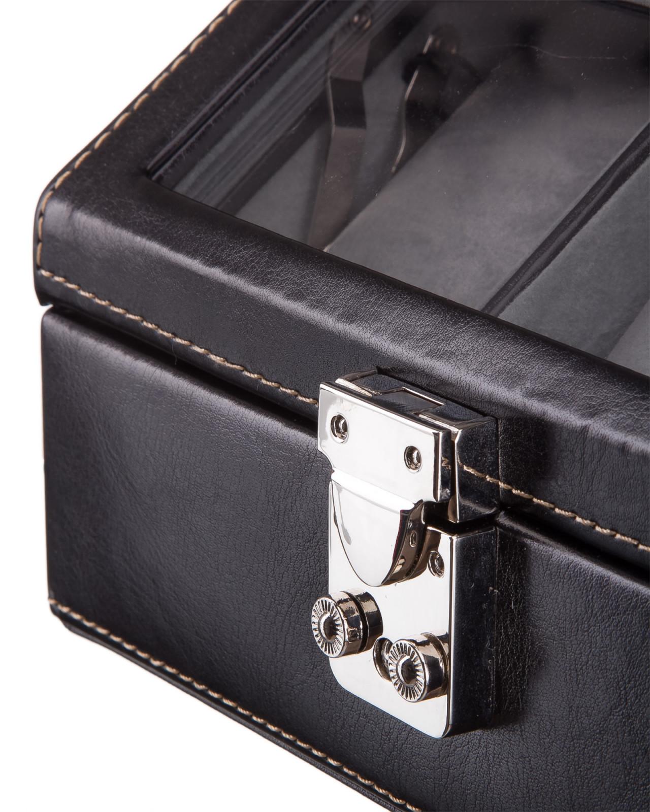Шкатулка для часов S-8059-2N черный