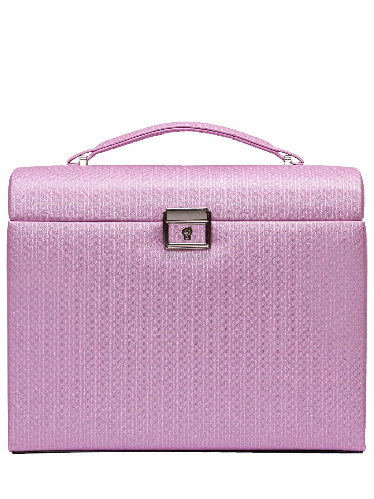 Шкатулка для украшений S-701B-1 светло-розовый
