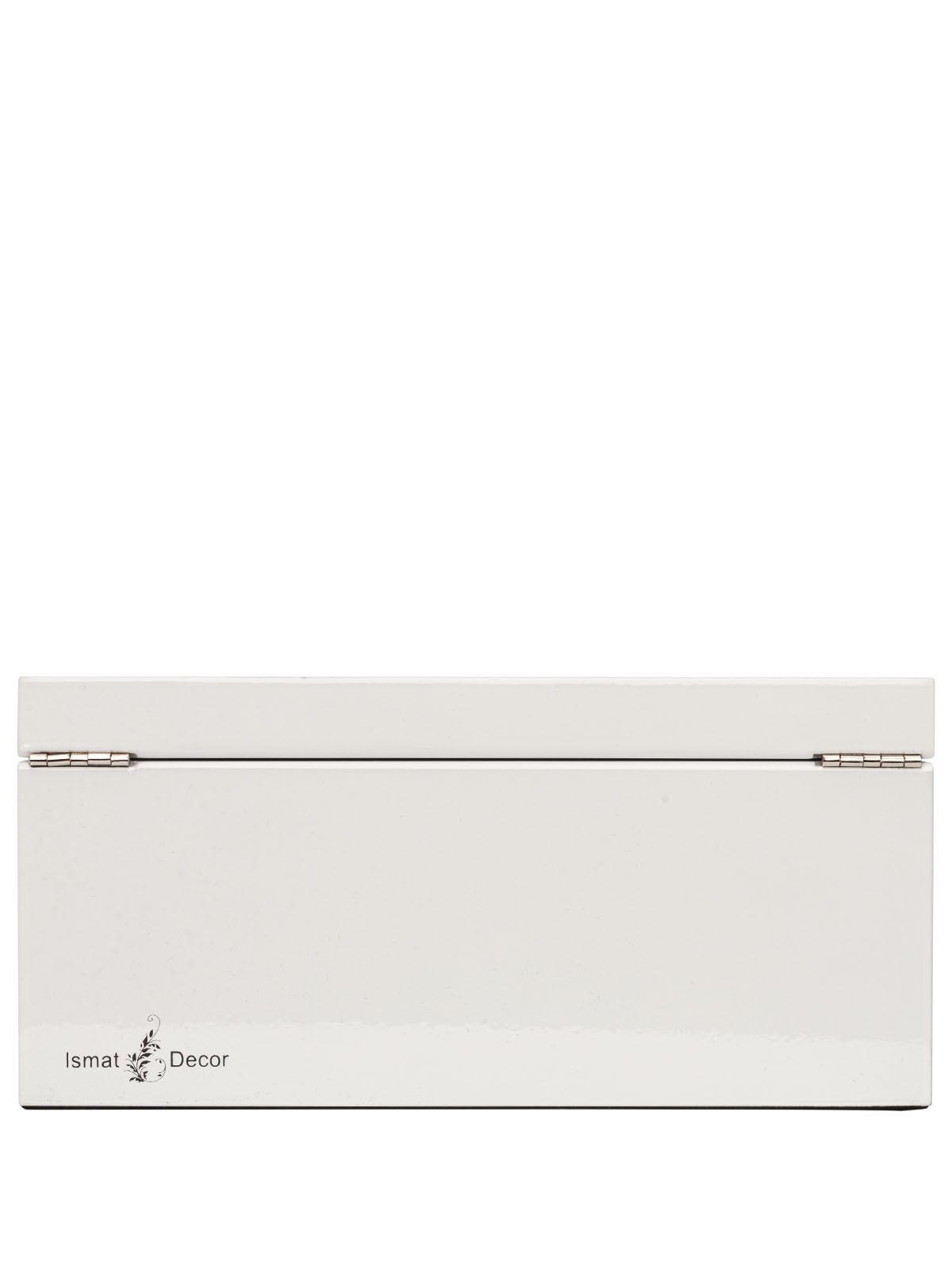 Шкатулка для украшений S-139W белый