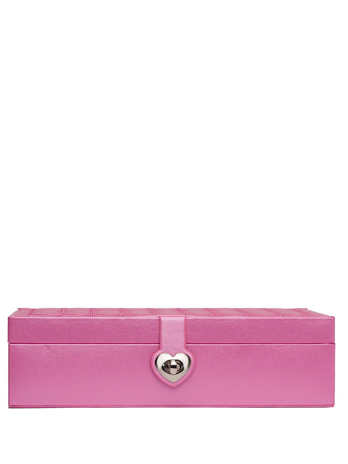 Шкатулка для украшений часов S-715V фиолетовый