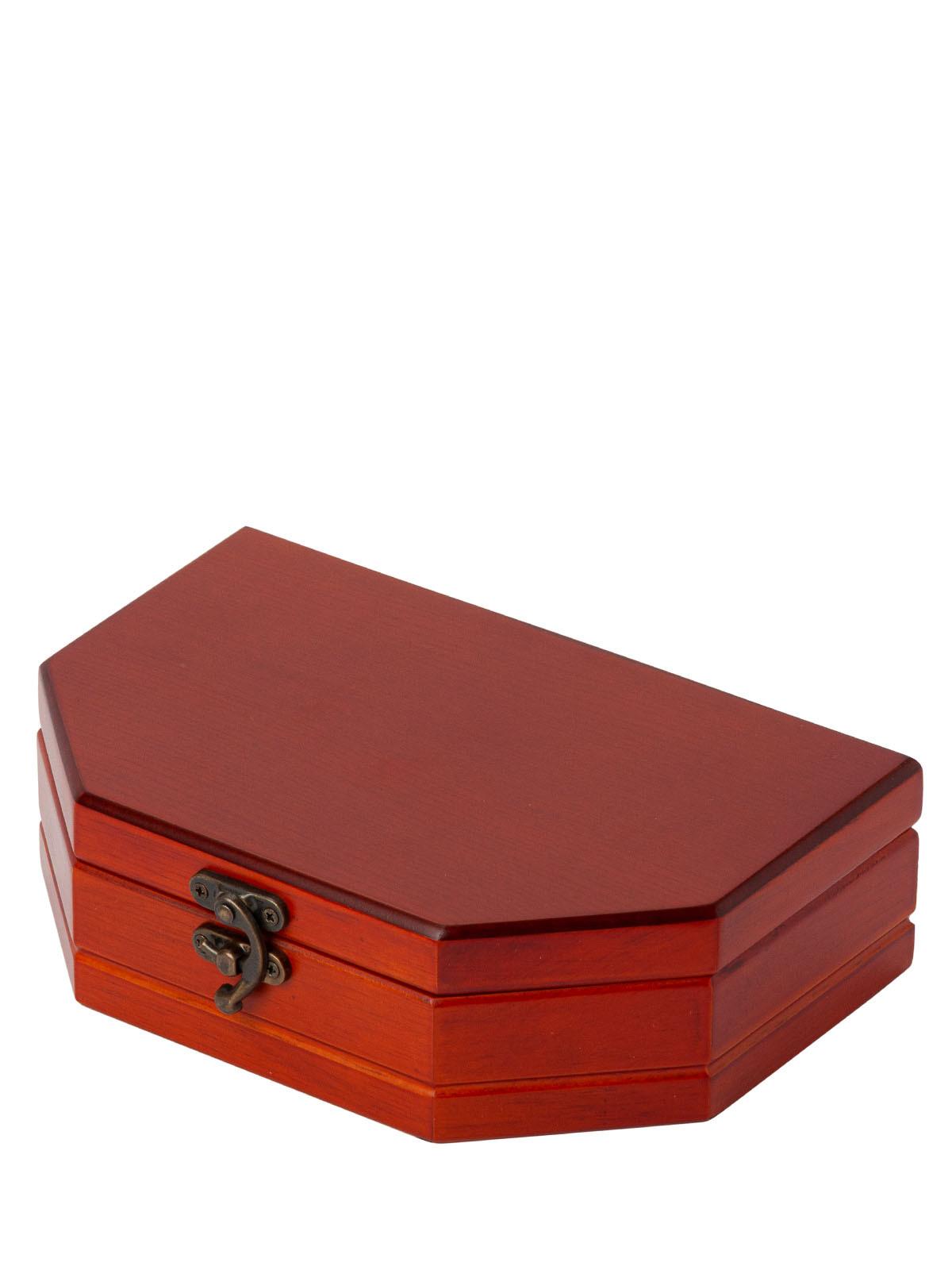 Шкатулка для украшений S-599 коричневый