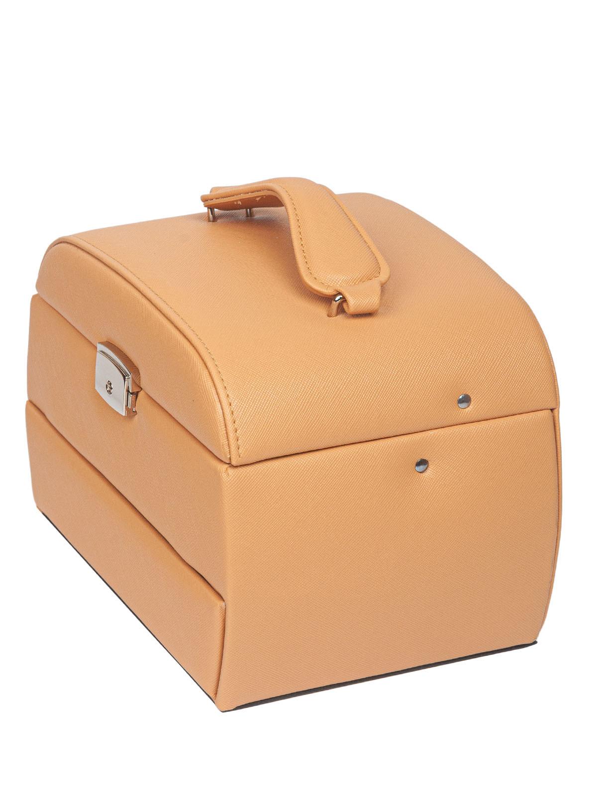 Шкатулка для украшений S-14017-1BR светло-коричневый