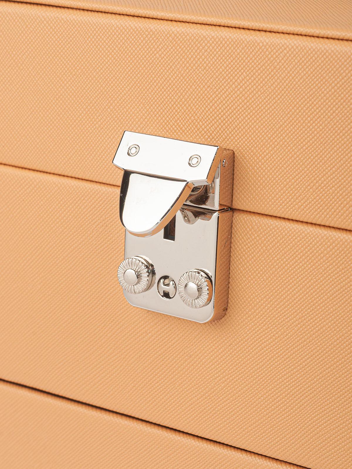 Шкатулка для украшений S-999-8KAR светло-коричневый