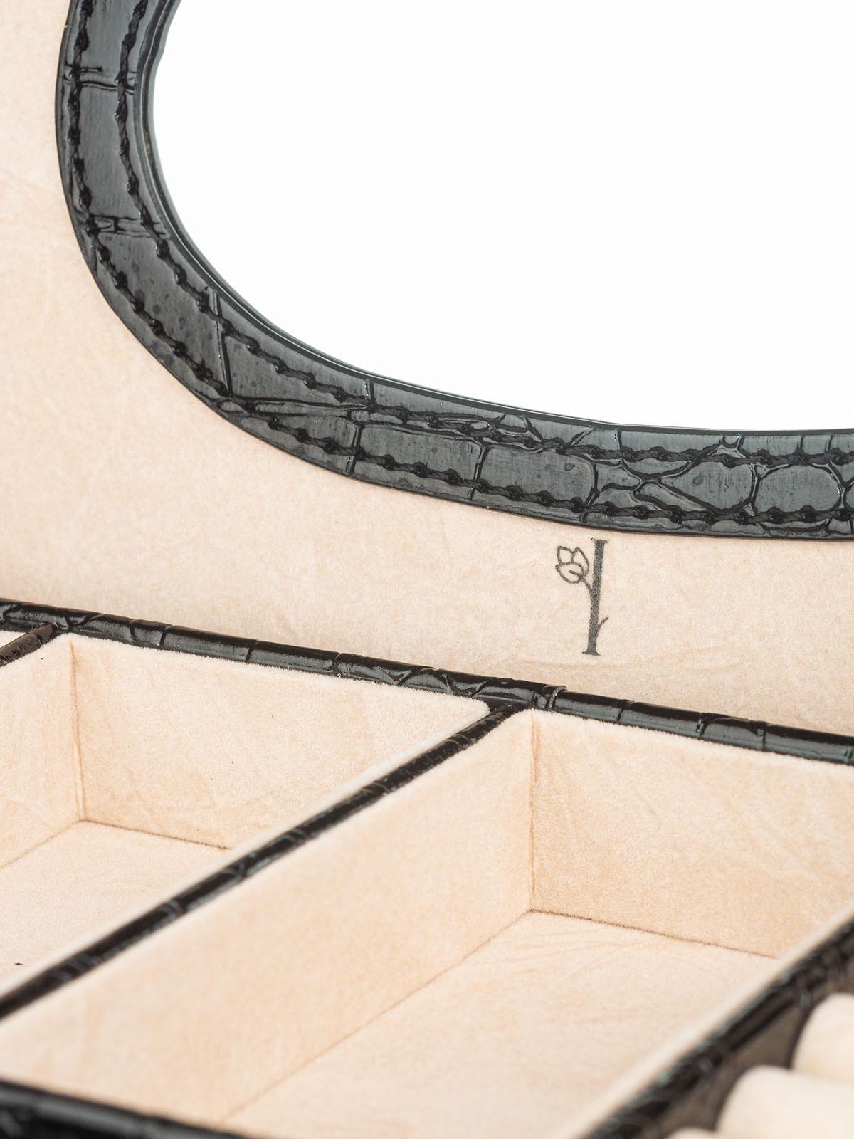 Шкатулка для украшений S-6167-1BL чёрный