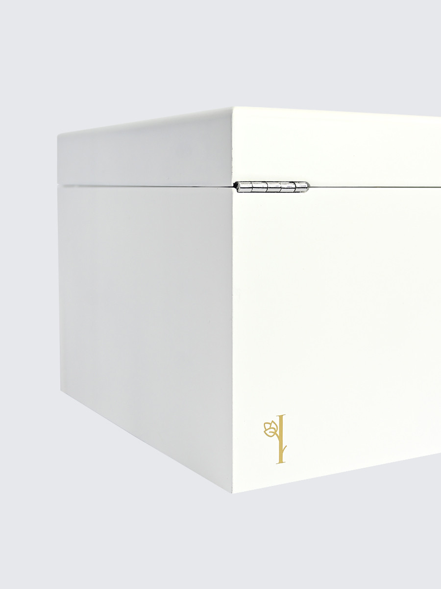 Шкатулка для украшений S-131W белый